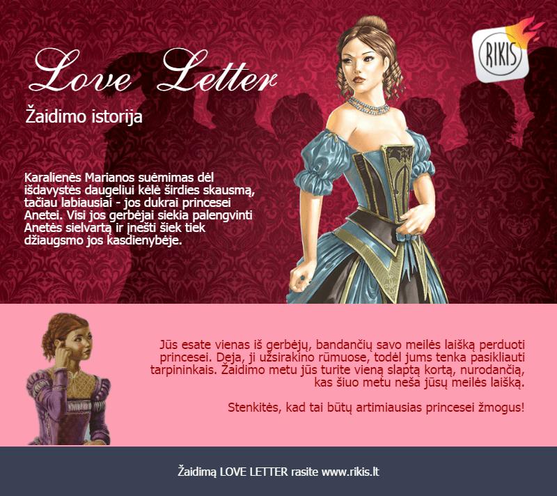 Love Letter istorija
