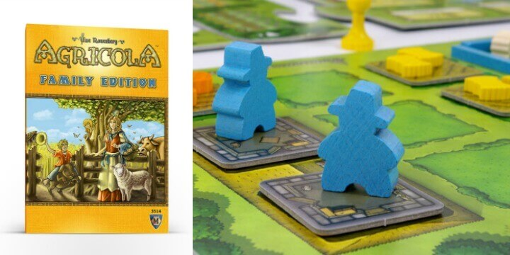Žaidimas Agricola Family Edition