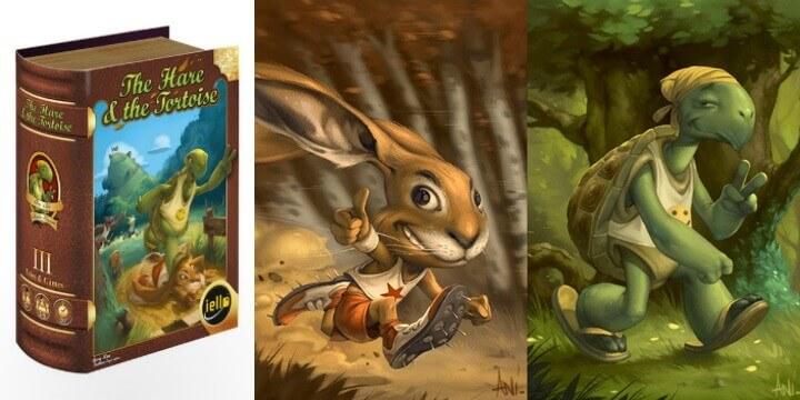 Žaidimas vaikams The Hare And The Tortoise
