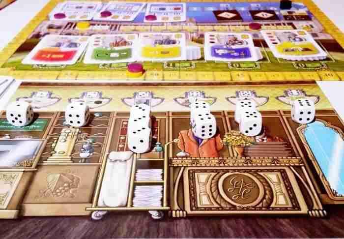 Stalo žaidimas Grand Austria Hotel