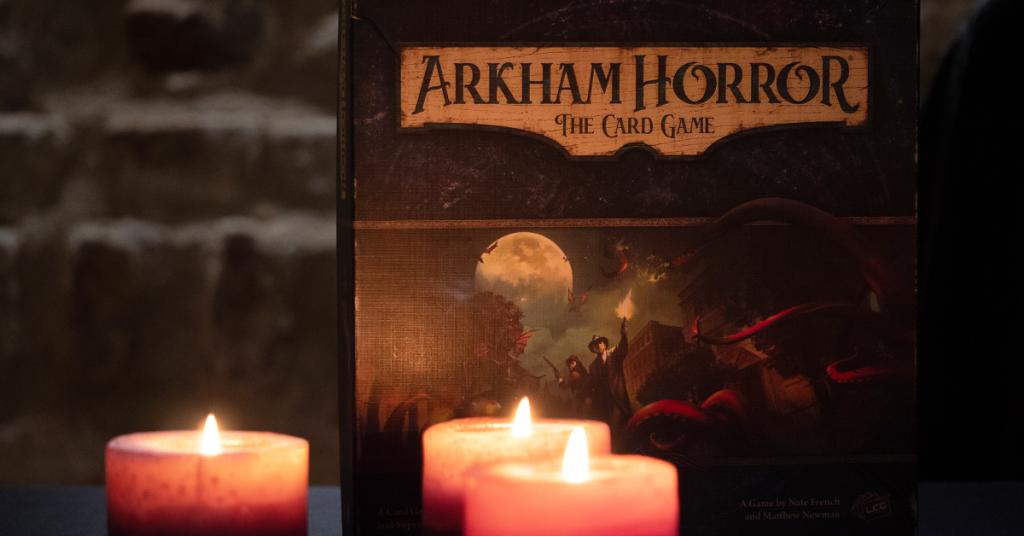 Kortų žaidimas Arkham Horror