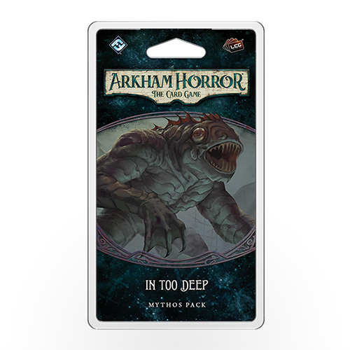 Stalo žaidimas Arkham Horror: The Card Game – In Too Deep