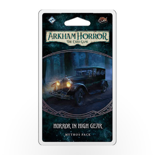 Stalo žaidimas Arkham Horror: The Card Game – Horror in High Gear