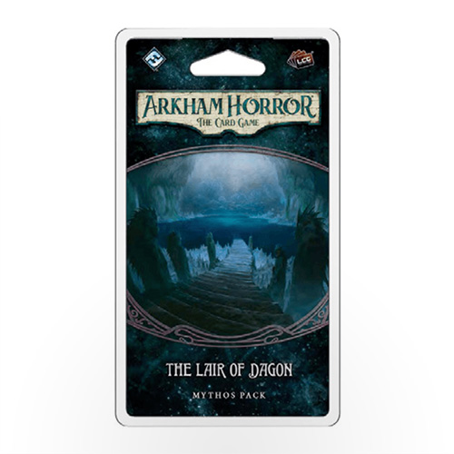 Stalo žaidimas Arkham Horror: The Card Game – The Lair of Dagon