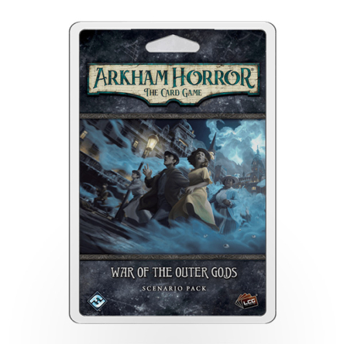 Stalo žaidimas Arkham Horror: The Card Game – War of the Outer Gods