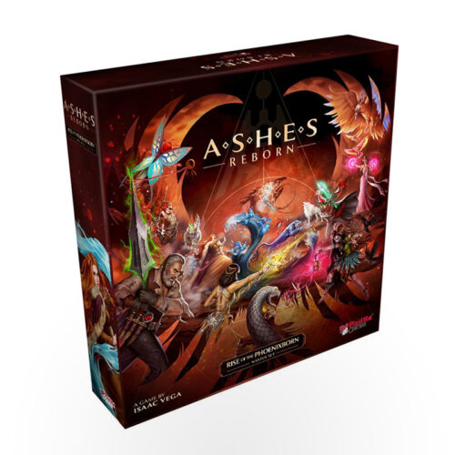 Stalo žaidimas Ashes Reborn: Rise of the Phoenixborn Master Set