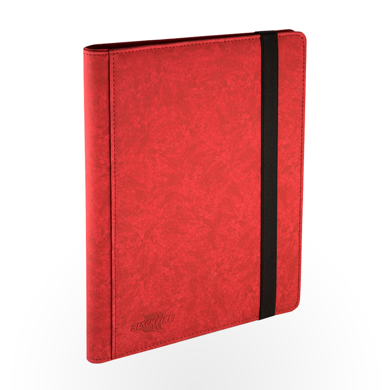 Blackfire 9 Pocket Premium Album - Red