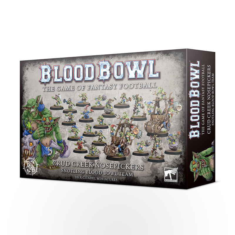Blood Bowl: Crud Creek Nosepickers - Snotling Blood Bowl Team