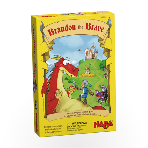Stalo žaidimas Brandon the Brave