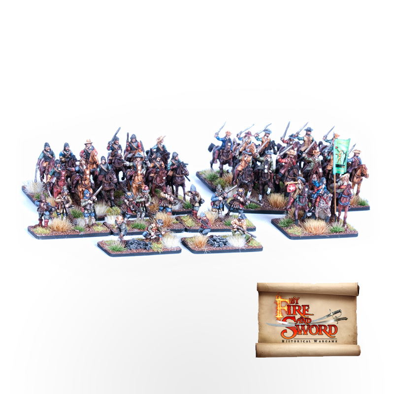 By Fire And Sword Danish Skirmish Set