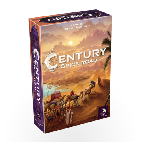 Century: Spice Road (Scandinavian version, English rules included)
