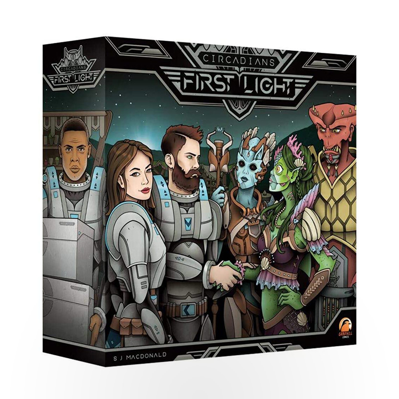 Board game Circadians: First Light