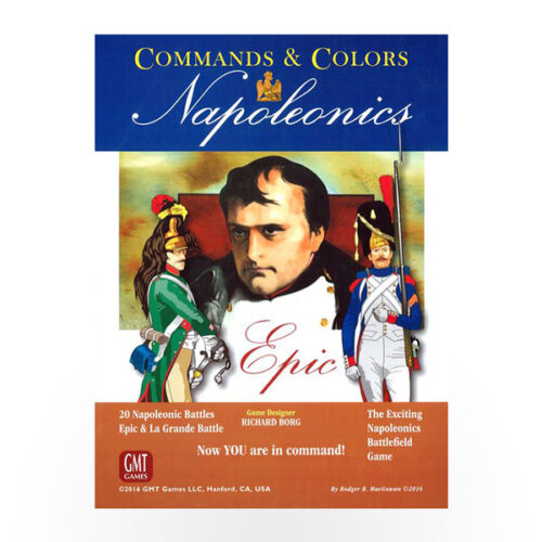 Stalo žaidimas Commands & Colors: Napoleonics - EPIC Napoleonics Expansion