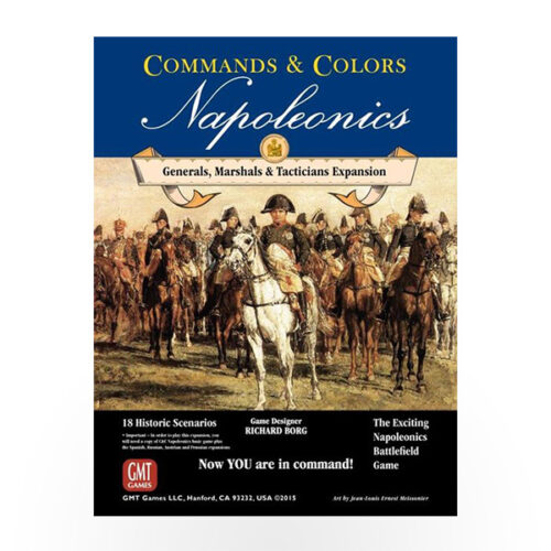 Stalo žaidimas Commands & Colors: Napoleonics - Generals, Marshals and Tacticians Expansion