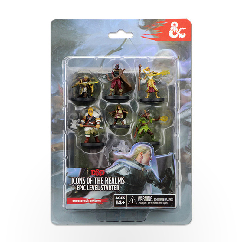 Dungeons & Dragons: Icons of the Realms Miniatures Epic Level Starter