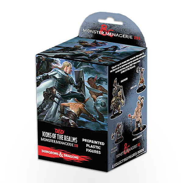 Dungeons & Dragons: Icons of the Realms - Monster Menagerie 3 Booster Pack
