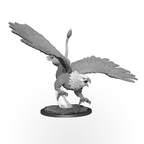 D&D Nolzur's Marvelous Miniatures: Diving Griffon