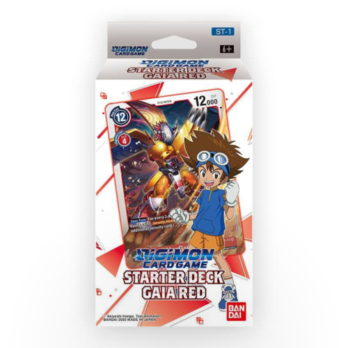 Digimon TCG - Starter Deck: Gaia Red