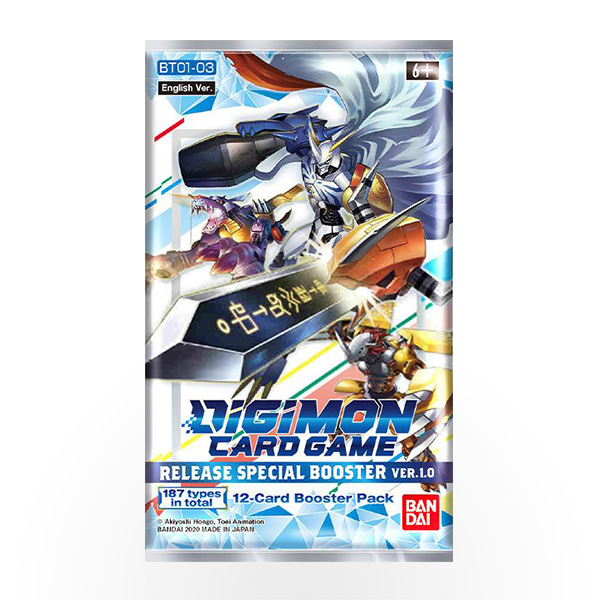 Digimon TCG - Ver 1.0 Release Special Booster Pack