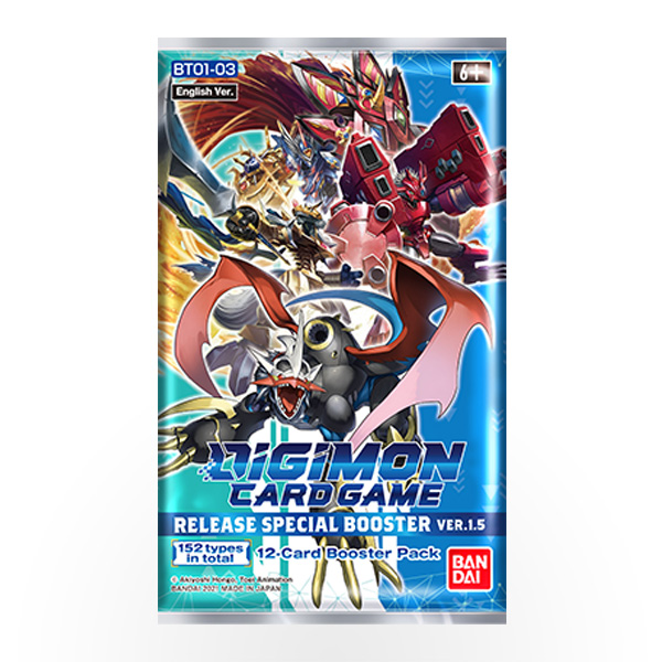 Digimon TCG - Ver 1.5 Release Special Booster Pack
