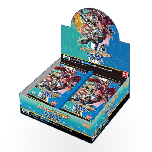 Digimon TCG - Ver 1.5 Release Special Booster Pack Display