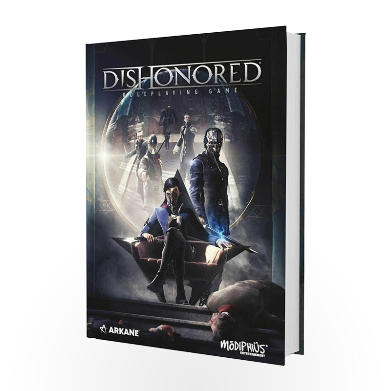Vaidmenų žaidimas Dishonored: The Roleplaying Game Corebook