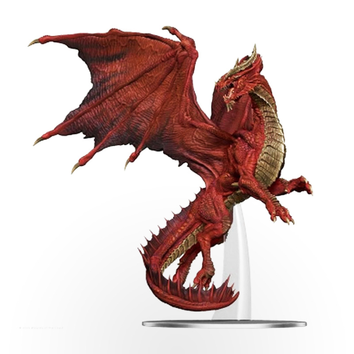 Dungeons & Dragons: Icons of The Realms – Adult Red Dragon Premium Figure