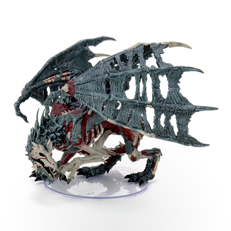 Dungeons & Dragons: Icons of the Realms: Boneyard Premium Set - Green Dracolich