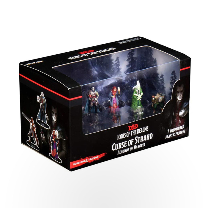 Dungeons & Dragons: Icons of the Realms - Curse of Strahd - Legends of Barovia Premium Box Set
