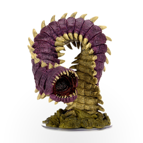 Dungeons & Dragons: Icons of The Realms - Fangs and Talons - Purple Worm Premium Set