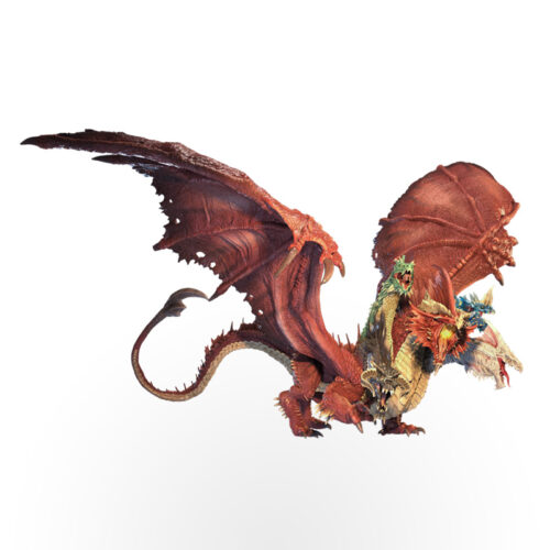 Dungeons & Dragons: Icons of The Realms – Gargantuan Tiamat Premium Set