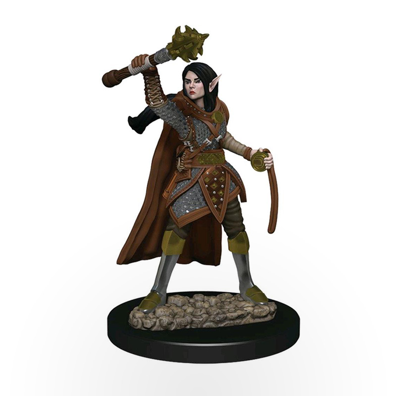 Dungeons & Dragons: Icons of the Realms - Premium Miniatures - Elf Female Cleric