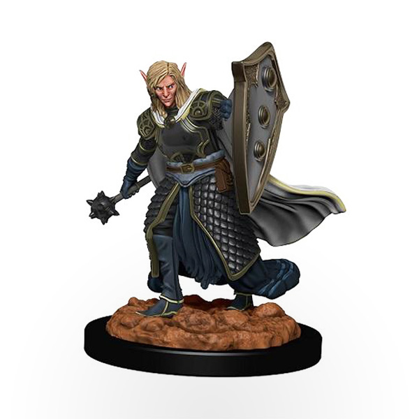 Dungeons & Dragons: Icons of the Realms - Premium Miniatures - Elf Male Cleric