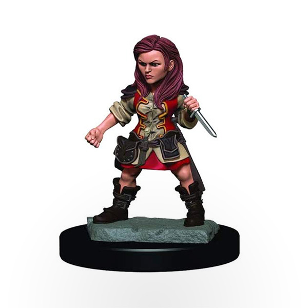 Dungeons & Dragons: Icons of the Realms – Premium Miniatures – Halfling Female Rogue