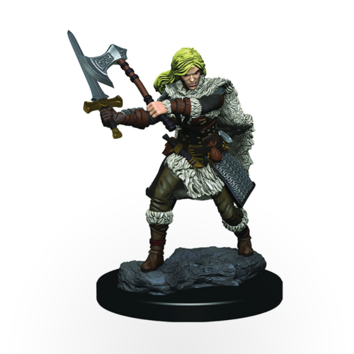 Dungeons & Dragons: Icons of the Realms - Premium Miniatures - Human Female Barbarian