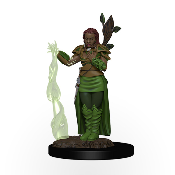 Dungeons & Dragons: Icons of the Realms - Premium Miniatures - Human Female Druid