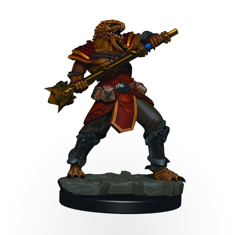 Dungeons & Dragons: Icons of the Realms - Premium Miniatures - Dragonborn Male Fighter