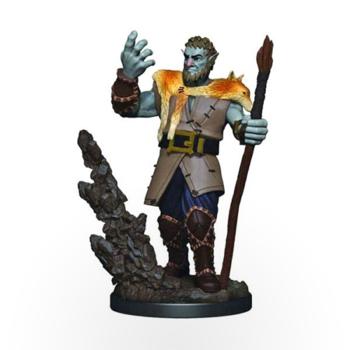 Dungeons & Dragons: Icons of the Realms - Premium Miniatures - Firbolg Male Druid