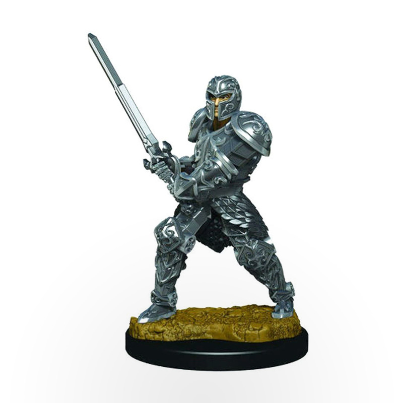 Dungeons & Dragons: Icons of the Realms - Premium Miniatures - Human Male Fighter