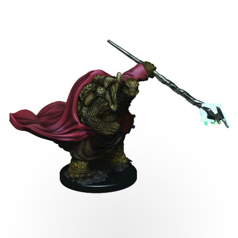 Dungeons & Dragons: Icons of the Realms - Premium Miniatures - Tortle Male Monk