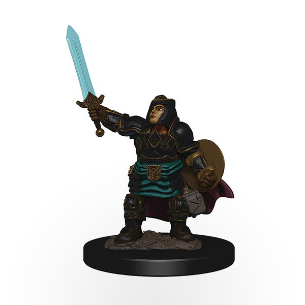 Dungeons & Dragons: Icons of the Realms - Premium Miniatures - Dwarf Female Paladin