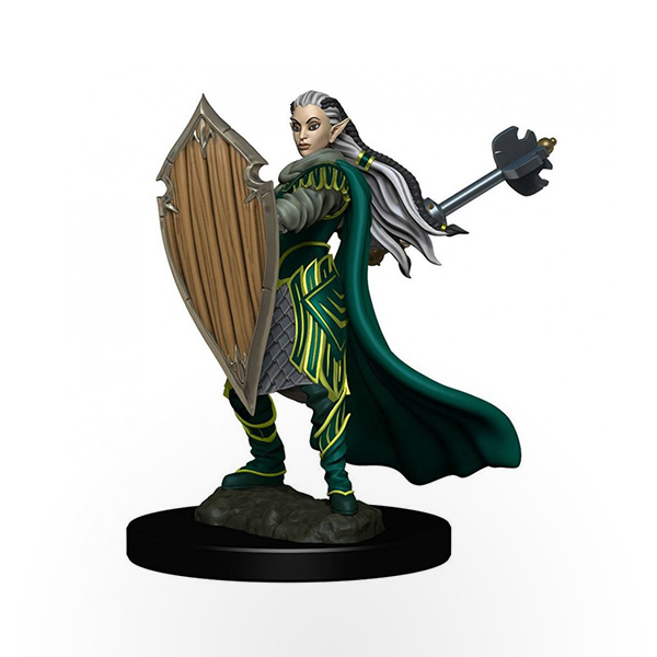 Dungeons & Dragons: Icons of the Realms - Premium Miniatures - Elf Female Paladin