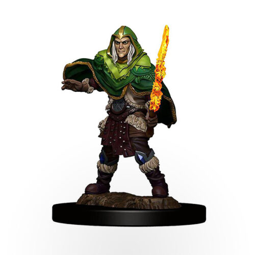 Dungeons & Dragons: Icons of the Realms - Premium Miniatures - Elf Male Fighter
