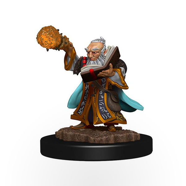 Dungeons & Dragons: Icons of the Realms - Premium Miniatures - Gnome Male Wizard
