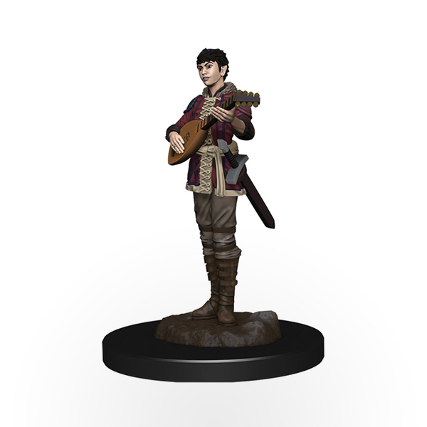 Dungeons & Dragons: Icons of the Realms - Premium Miniatures - Half-Elf Female Bard
