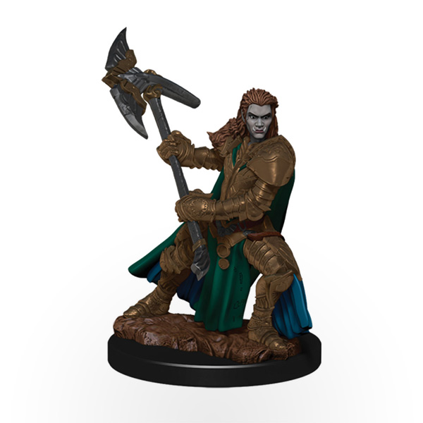 Dungeons & Dragons: Icons of the Realms - Premium Miniatures - Half-Orc Female Fighter