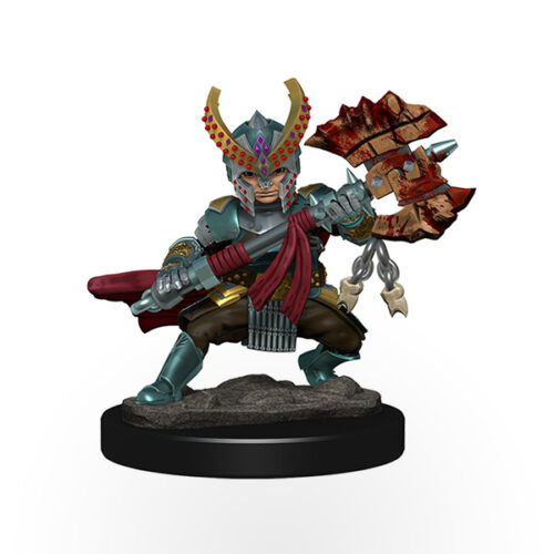 Dungeons & Dragons: Icons of the Realms - Premium Miniatures - Halfling Female Fighter