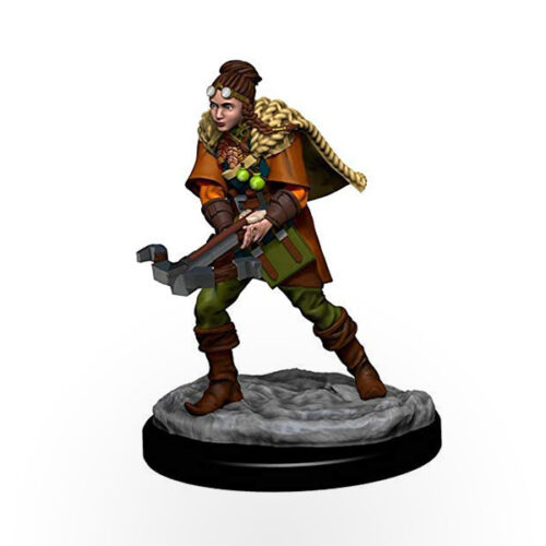 Dungeons & Dragons: Icons of the Realms - Premium Miniatures - Human Female Ranger