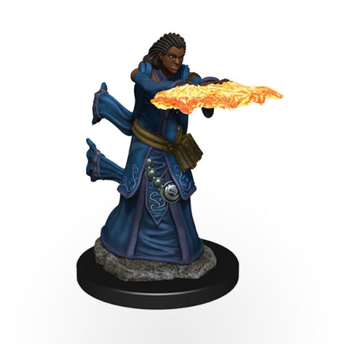 Dungeons & Dragons: Icons of the Realms - Premium Miniatures - Human Female Wizard