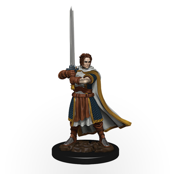 Dungeons & Dragons: Icons of the Realms - Premium Miniatures - Human Male Cleric